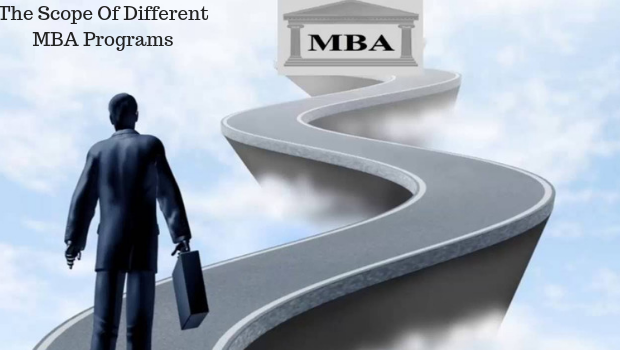 The scope of different MBA programs