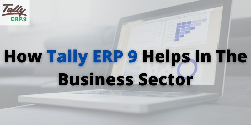 Tally ERP 9 Help In The Business Sector